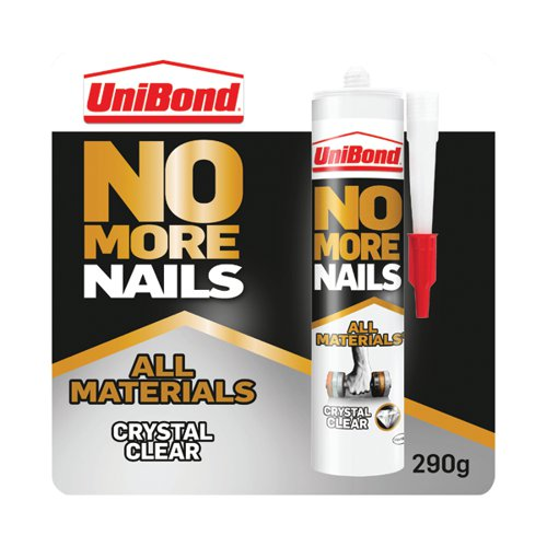 No More Nails All Materials Grab Adhesive Cartridge Clear 290g 2492492