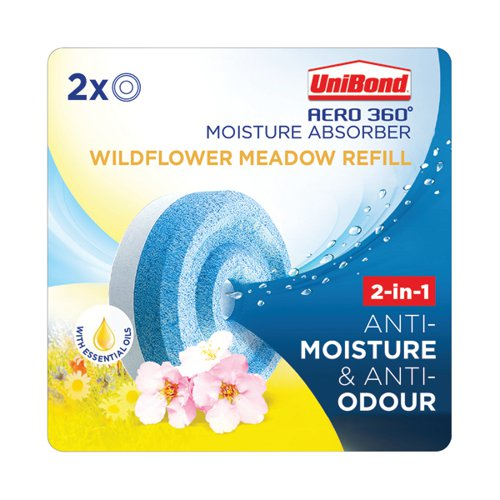 Unibond Aero 360 Wildflower Meadow Refill (Pack of 2) 2631292