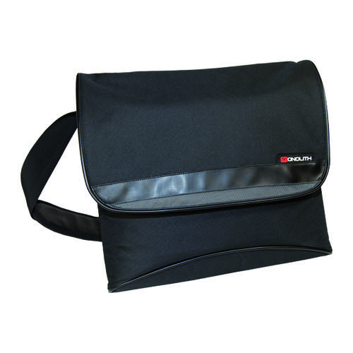 Monolith Nylon Laptop Messenger Bag W400 x D115 x H365mm Black 2386