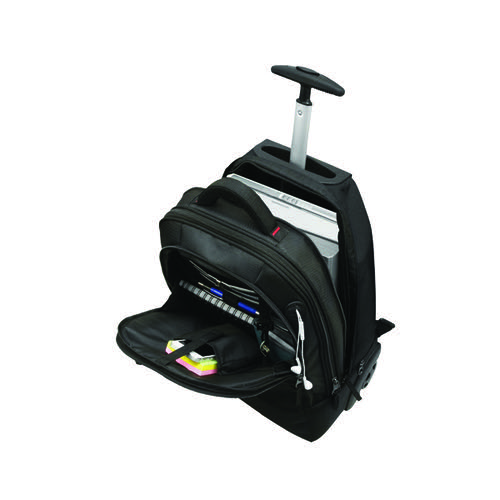Monolith 2 In 1 Wheeled Laptop Backpack Black 3207
