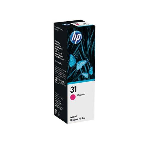 HP 31 70ml Magenta Ink Bottle 1VU27AE