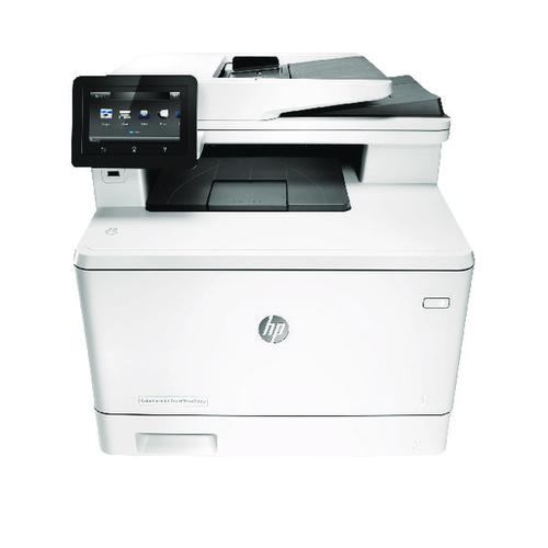 HP Color LaserJet Pro MFP M477fdw All in One Printer CF379A#B19
