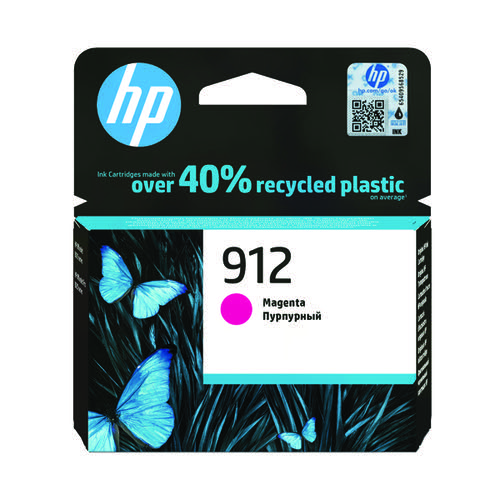 HP 912 Ink Cartridge Magenta 2.93ml 3YL78AE