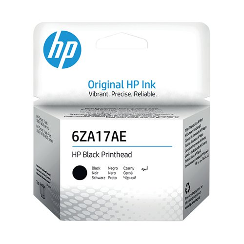 HP Printhead Black 6ZA17AE