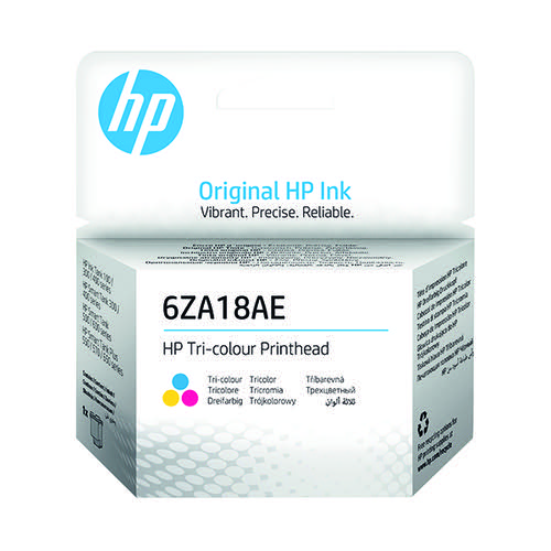 HP Printhead Tri-Color 6ZA18AE
