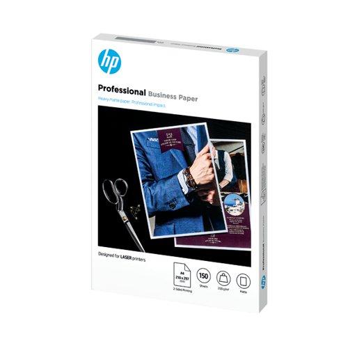 HP Professional Laser Jet Paper Matte 200gsm A4 150 Sheets 7MV80A