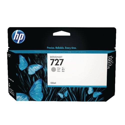 HP 727 Grey High Yield Designjet Cartridge (Capacity: 130ml) B3P24A