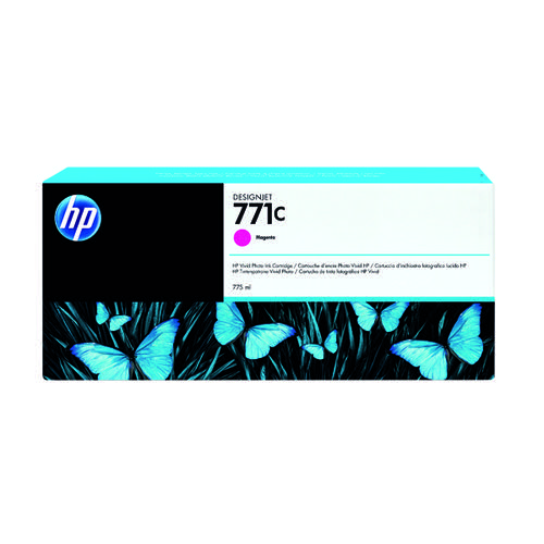 HP 771C Magenta Designjet Ink Cartridge B6Y09A