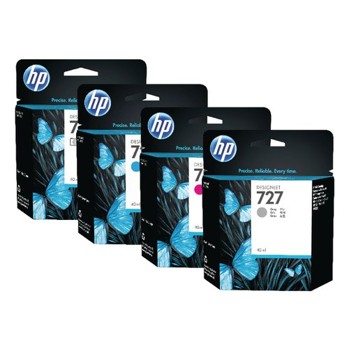 HP 727 Matte Black Photo Ink Cartridge C1Q12A