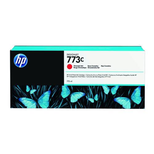 HP 773C Chromatic Red Original Ink Cartridge C1Q38A