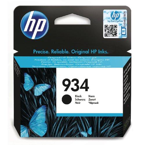 HP 934 Black Ink Cartridge (Standard Yield, 400 Page Capacity) C2P19AE