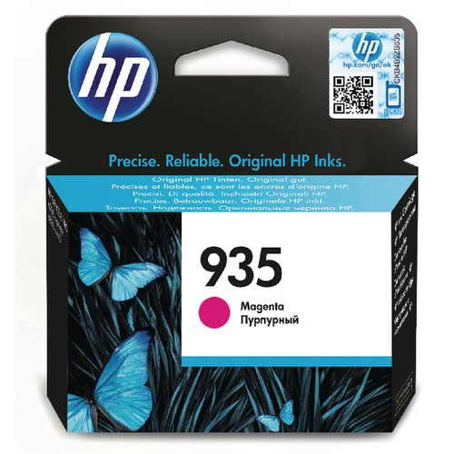 HP 935 Magenta Ink Cartridge Standard Yield C2P21AE