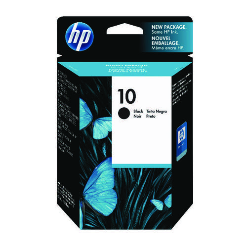 HP 10 Black Inkjet Print Cartridge C4844A