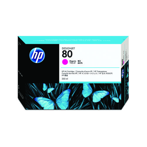 HP 80 Magenta Inkjet Print Cartridge C4847A