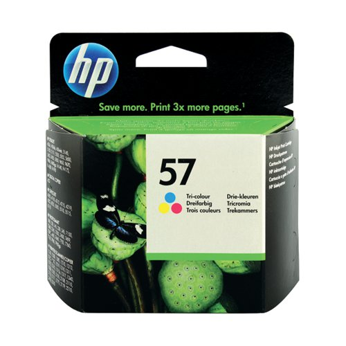HP 57 Cyan/Magenta/Yellow Inkjet Cartridge C6657AE