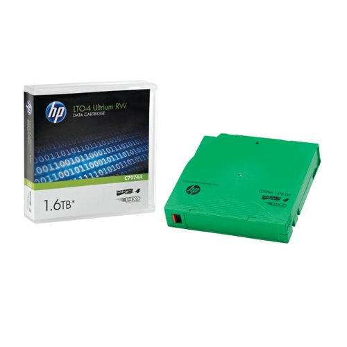 HP Ultrium LTO-4 1.6TB Data Cartridge C7974A