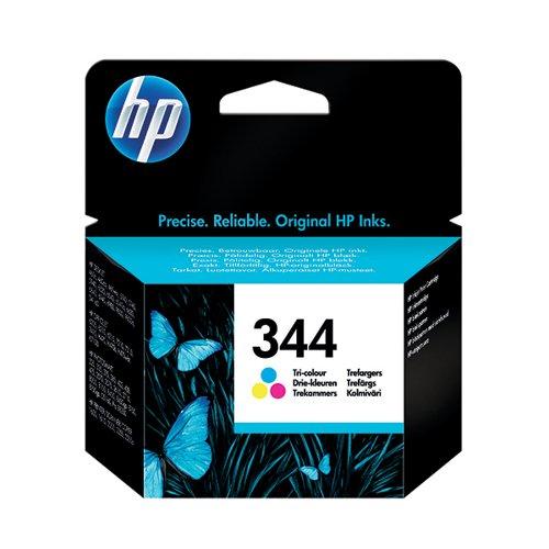 HP 344 Cyan/Magenta/Yellow Inkjet Cartridge C9363EE