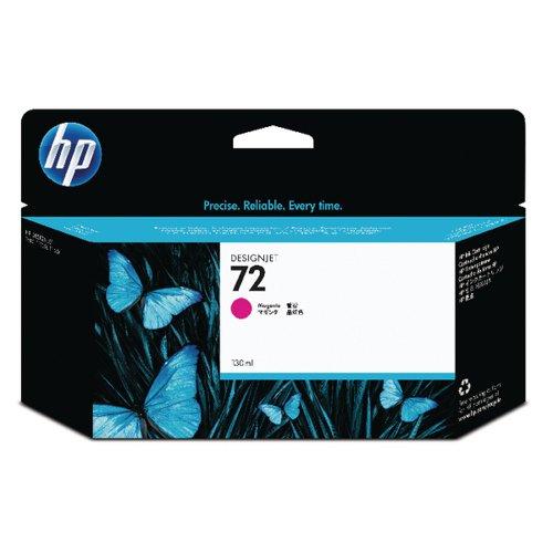 HP 72 Magenta Ink Cartridge (High Yield 130ml Capacity) C9372A