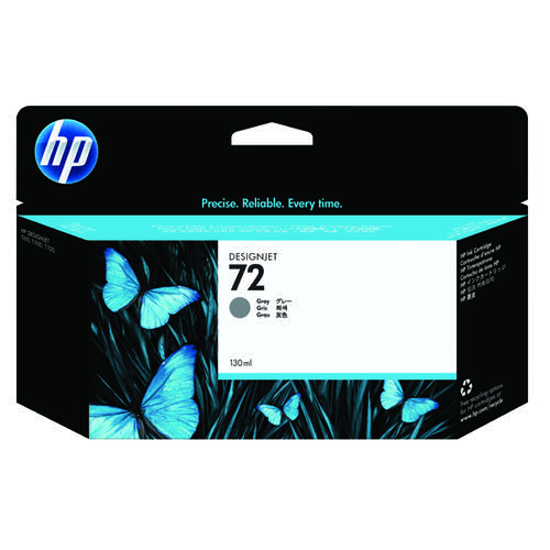 HP 72 Grey Ink Cartridge (High Yield 130ml Capacity) C9374A