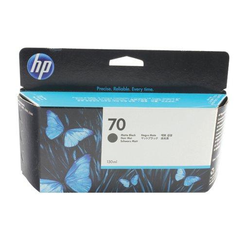 HP 70 Black Inkjet Cartridge (High Yield 130ml) C9448A