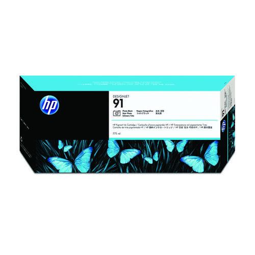 HP 91 Photo Black Inkjet Cartridge C9465A