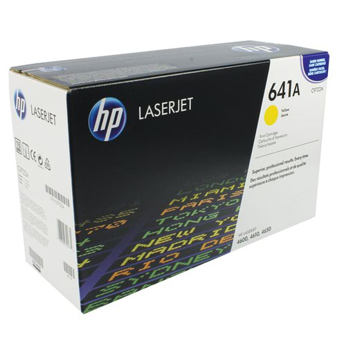 HP 641A Yellow Laserjet Toner Cartridge C9722A