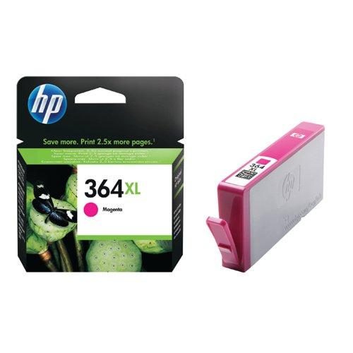 HP 364XL High Yield Magenta Inkjet Cartridge CB324EE