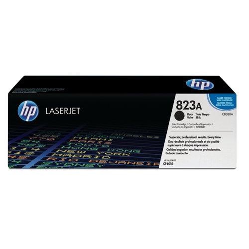 HP 823A Black Laserjet Toner Cartridge CB380A