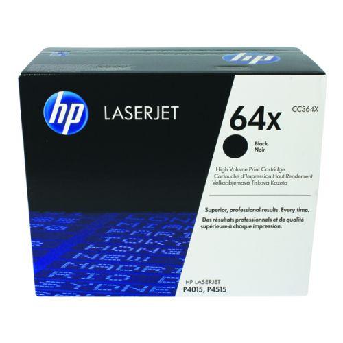 HP 64X Black High Yield Laserjet Toner Cartridge CC364X