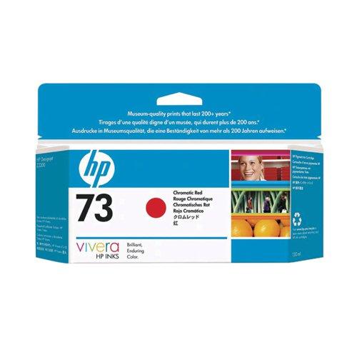 HP 73 Red Inkjet Cartridge (Standard Yield 130ml Capacity) CD951A