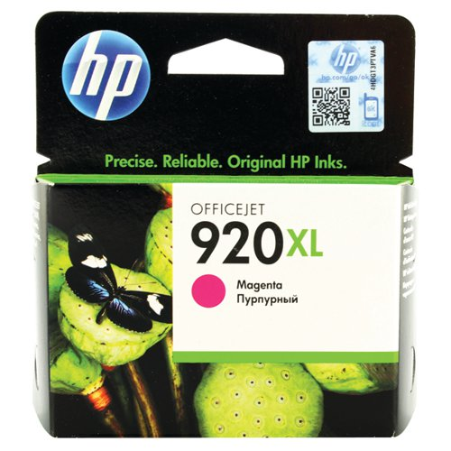 HP 920XL High Yield Magenta Ink Cartridge (700 page capacity) CD973AE