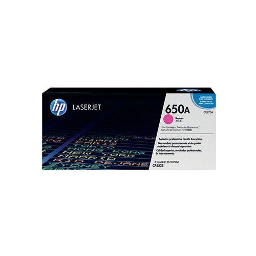 HP 650A Magenta Laserjet Toner Cartridge CE273A