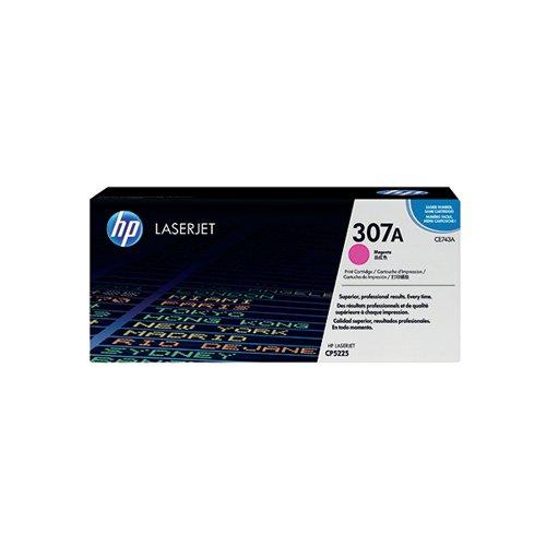 HP 307A Magenta Laserjet Toner Cartridge CE743A