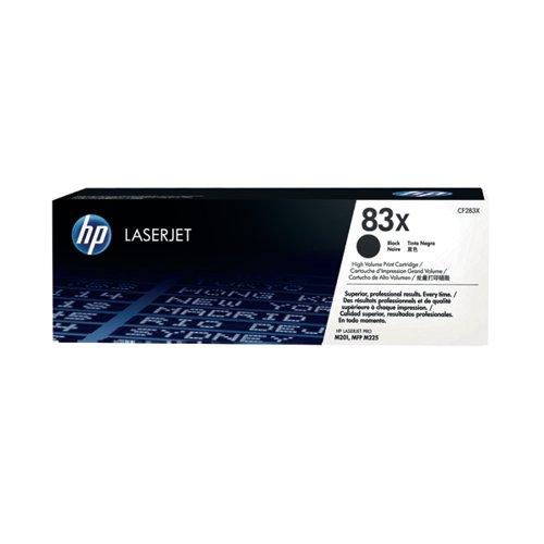 HP 83X High Yield Black Laserjet Toner Cartridge (Pack of 2) CF283XD