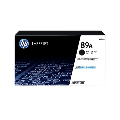 HP 89A Black LaserJet Toner Cartridge CF289A