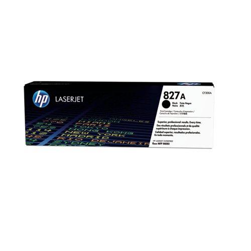HP 827A Black Laserjet Toner Cartridge CF300A