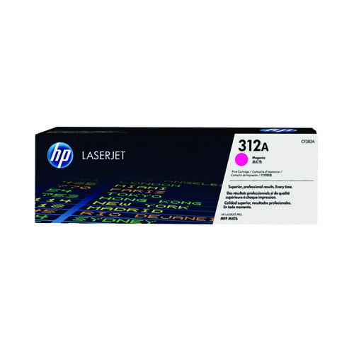 HP 312A Magenta Laserjet Toner Cartridge CF383A