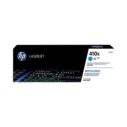 HP 410X High Yield Cyan Laserjet Toner Cartridge CF411X