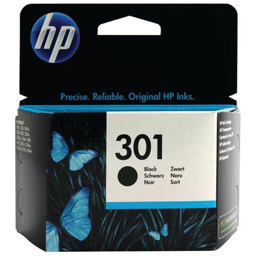 HP 301 Black Ink Cartridge Standard Yield 3ml CH561EE