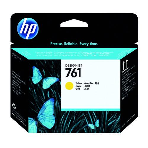 HP 761 Designjet Printhead Yellow CH645A