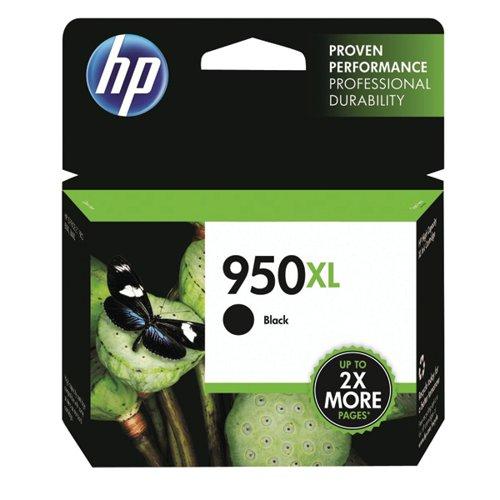HP 950XL Black Officejet Inkjet Cartridge (2300 page capacity) CN045AE