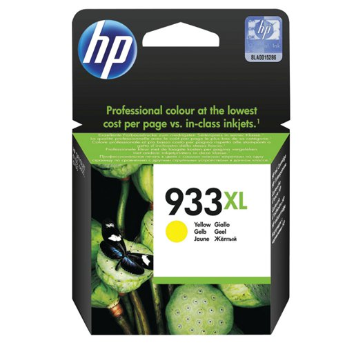 HP 933XL Yellow Officejet Inkjet Cartridge CN056AE