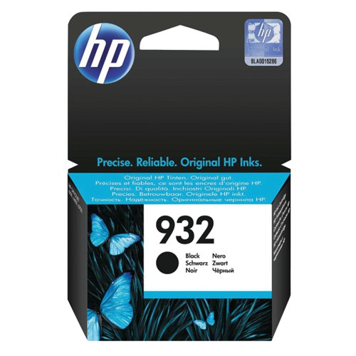 HP 932 Black Officejet Ink Cartridge CN057AE