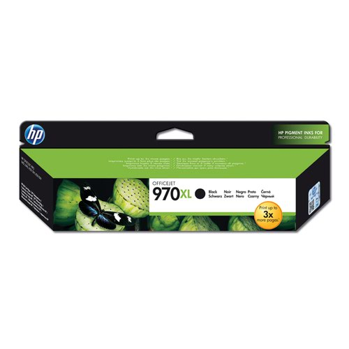 HP 970Xl Black Officejet Ink Cartridge CN625AE