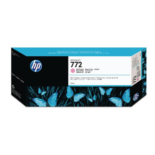 HP 772 Light Magenta Designjet Inkjet Cartridge CN631A