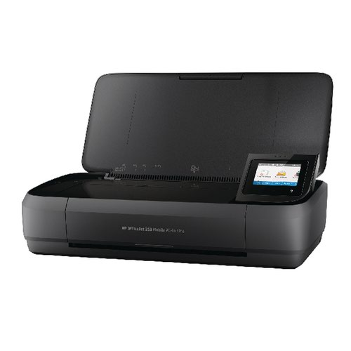 HP Officejet 250 Mobile All-in-one Printer Black CZ992A