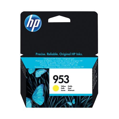 HP 953 Ink Yellow Cartridge (Standard Yield 10ml 700 Page Capacity) F6U14AE