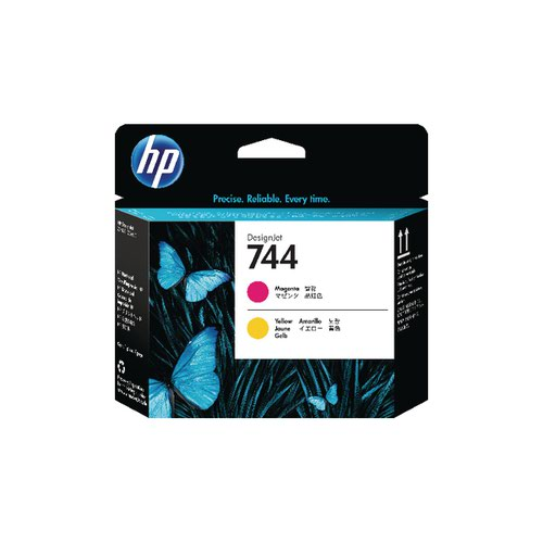 HP 744 Magenta and Yellow Printhead F9J87A