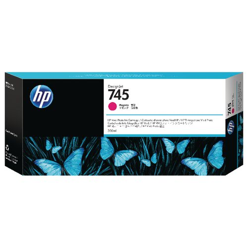 HP 745 DesignJet Ink Magenta Cartridge F9K01A