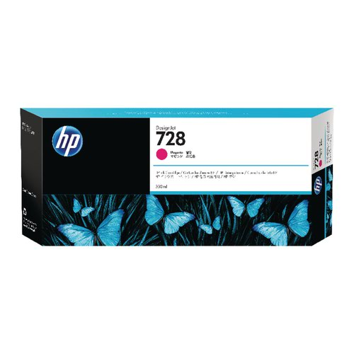 HP 728 Magenta Ink Cartridge F9K16A